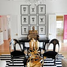 Red White And Black Rug Black And White Striped Rug Design Ideas