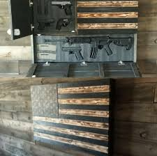 metal art of wisconsin freedom cabinet burnt large concealment flag wooden american flag weapon