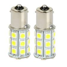 Led Light Bulbs For Travel Trailers by 10x 5050 White 1156 Ba15s Rv Trailer Interior 12v Led Lights Bulbs