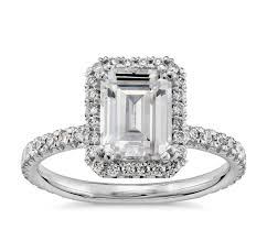 what is an engagement ring blue nile studio emerald cut heiress halo engagement ring