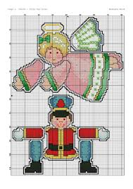 360 best cross stitch christmas ornaments images on pinterest