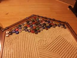 How To Build A Tabletop Jump Out Of Wood by Best 25 Bottle Cap Table Ideas On Pinterest Bottle Cap Projects