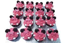 minnie mouse cakes minnie mouse cup cakes