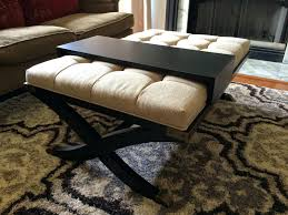 ottoman beautiful coffee table square ottoman upholstered
