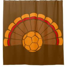 thanksgiving turkey shower curtains zazzle