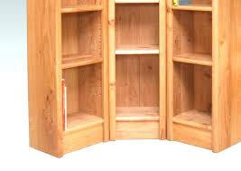 corner oak bookcase oak corner ladder shelf oak corner bookcase