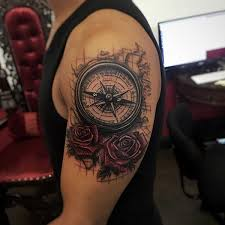 3d Compass Tattoos 90 Artistic And Eye Catching Compass Designs