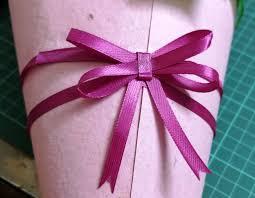 ribbon bow easy ribbon bow 2 mins no sew