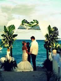wedding arches rental miami arc de s tropical wedding altar chuppah canopy rentals miami