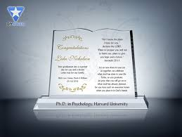 graduation plaque christian graduation gift plaque etched award plaque