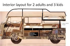 volkswagen bus interior thesamba com bay window bus view topic my interior layout