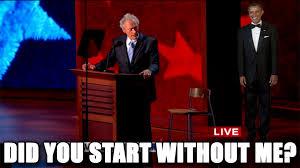 Clint Eastwood Chair Meme - the rabbi with a blog rabbi jason miller clint eastwood talks to