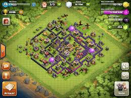 Clash Of Clans Maps Top 10 Clash Of Clans Town Hall Level 8 Defense Base Design