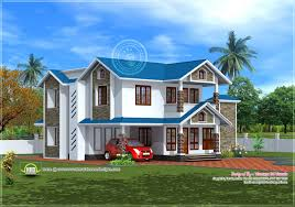 beautiful house picture 2185 square feet house exterior house design plans