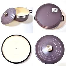 Creuset Pot Milano2 Rakuten Global Market Flatting Light Purple Color