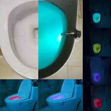 led lightbowl rgb rechargeable toilet light motion sensor seat