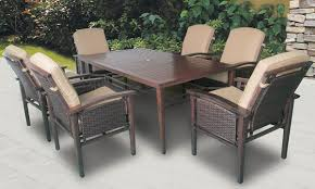 Outdoor Dining Room Coronado Outdoor Dining Table U0026 Arm Chairs The Dump America U0027s