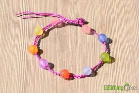braided bracelet diy images How to make a diy braided bracelet with beads in several steps jpg