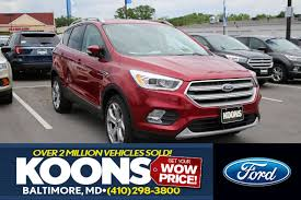 Ford Escape Titanium - 2017 ford escape titanium for sale baltimore md
