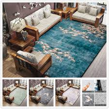 3d Area Rugs 3d Plum Flower Carpet For Crane Printed Living Room Area