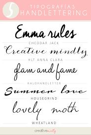 creative mindly las tipografías handlettering más codiciadas