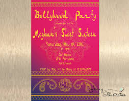 gorgeous bollywood theme party invitation card 12 at cool article