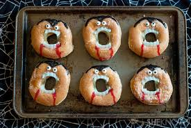 creepy vampire doughnuts recipe halloween land