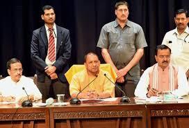 Portfolio Of Cabinet Ministers Uttar Pradesh Cm Yogi Adityanath Allocates Portfolios Keeps Home