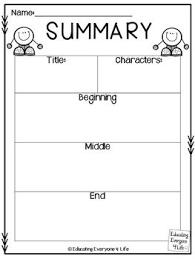 best 25 summary ideas on pinterest summary anchor chart