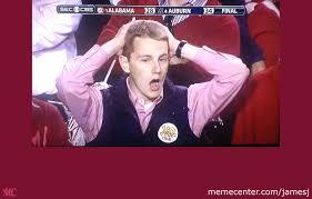 Auburn Memes - alabama shocking loss to auburn by jamesj meme center