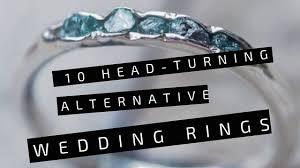 alternative wedding rings 10 turning alternative wedding rings engagement rings