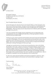 Landlord Reference Letter Ireland General Letters Of Appreciation U2014 The Society Of The Friendly Sons