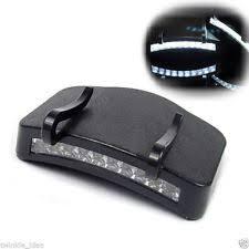 clip on visor light super bright 11 led hat clip light hands ball cap visor light a