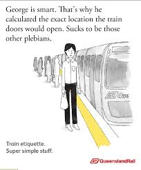 Queensland Memes - queensland rail etiquette posters etiquette hilarious stuff and
