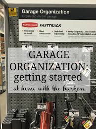 Rubbermaid Garage Organization System - garage organization at home with the barkers