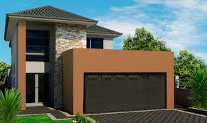 luxury home plans for narrow lots narrow lot 2 storey house plans house plan