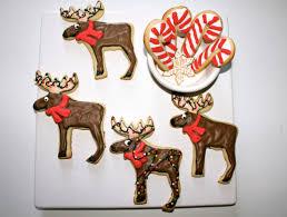 christmas moose cookies blondie u0027s sugar art