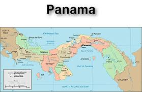 map of panama city panama cities road map