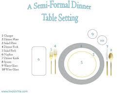 formal dinner table setting setting a formal dining table formal dinner table setting semi