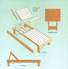 lounger plans woodwork city free woodworking plans