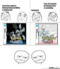 Black And White Memes - pokemon black and white by bluepika meme center