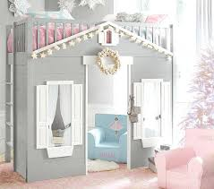 playhouse bed with stairs loft slide coolest beds for kids 9812