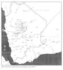 Map Of Yemen Jews In Yemen 02 1919 1970