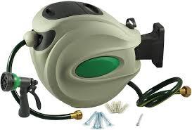 ikris hose nozzle and hose reel forgardening