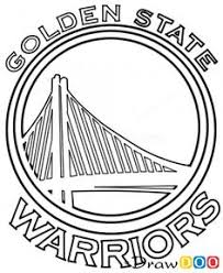 Golden State Warriors Coloring Pages golden state warriors basketball coloring page golden state
