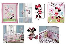 Crib Bedding Set Minnie Mouse 14 Pieces Deluxe Disney Minnie Mouse Crib Bedding Set