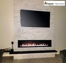 fireplace ideal tv installation binhminh decoration