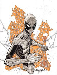 army spiderman commission drawing gct germany by noahwhyler on
