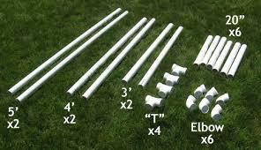 Backyard Football Goal Post Measurements For Pvc Soccer Goal Do It Yourself Soccer Goals