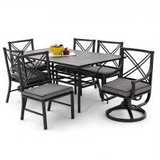 Solana Bay 7 Piece Patio Dining Set by Cozy Urban Outdoor 7 Piece Patio Dining Set With Swivel Chairs